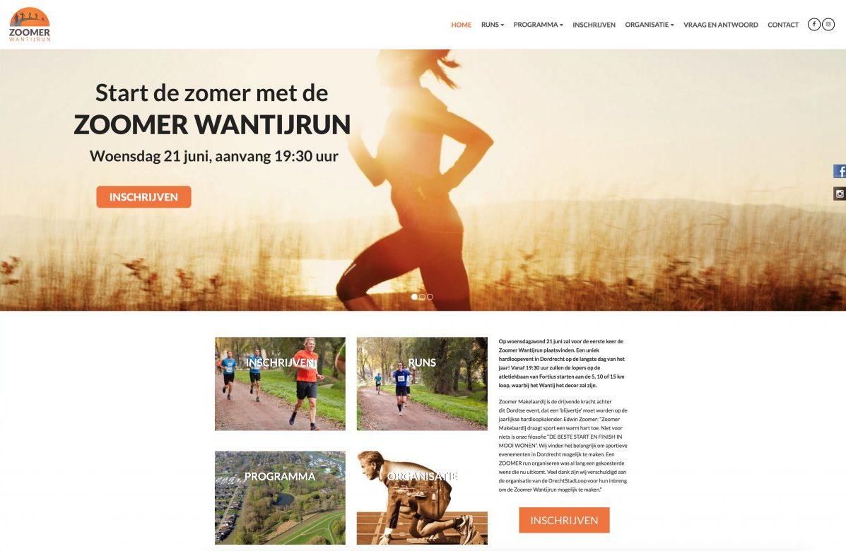 Zoomer wantijrun hardlopen Dordrecht